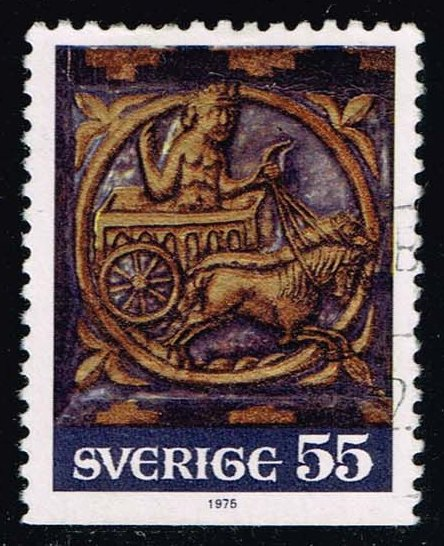 Sweden #1144 Chariot of the Sun; Used (0.30)