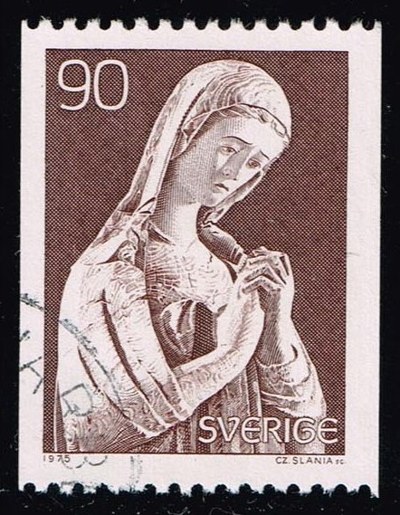 Sweden #1146 Mourning Mary Statue; Used (0.25)