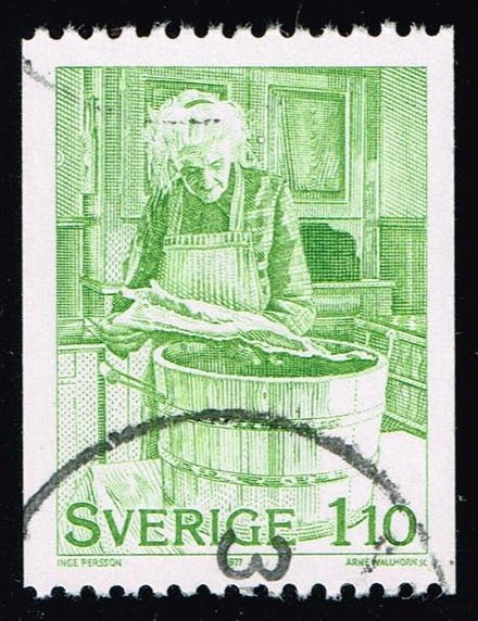 Sweden #1226 Christmas Preparations; Used (0.25)