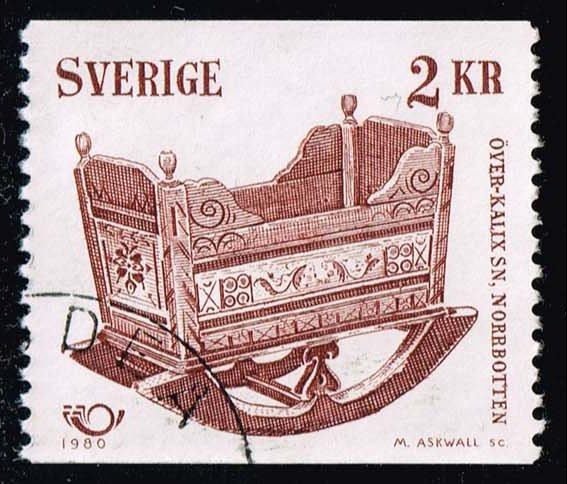Sweden #1332 Cradle; Used (0.45)