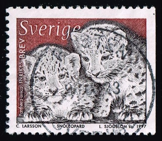 Sweden #2222 Panther Cubs; Used (0.35)