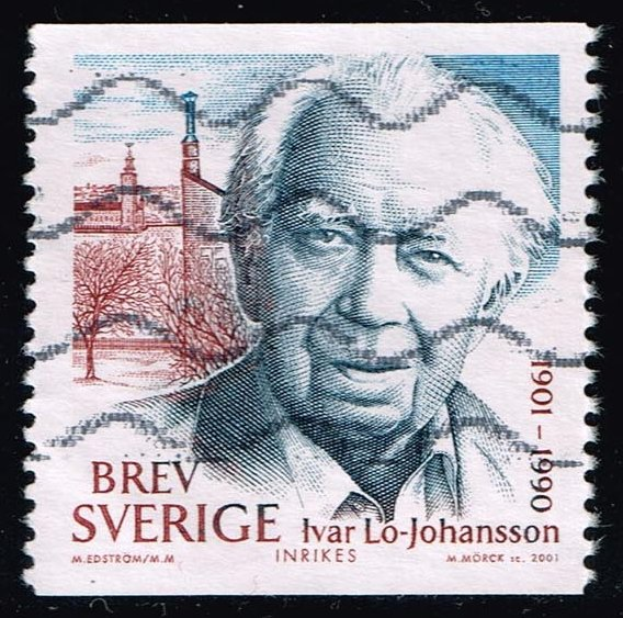 Sweden #2416a Ivar Lo-Johansson; Used (0.90)