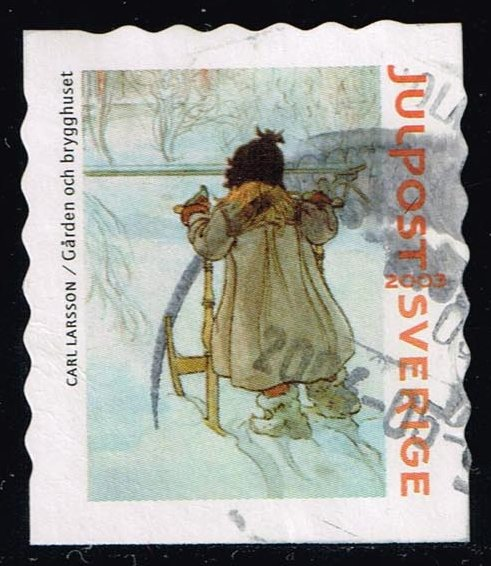 Sweden #2473d Christmas; Used (1.40)