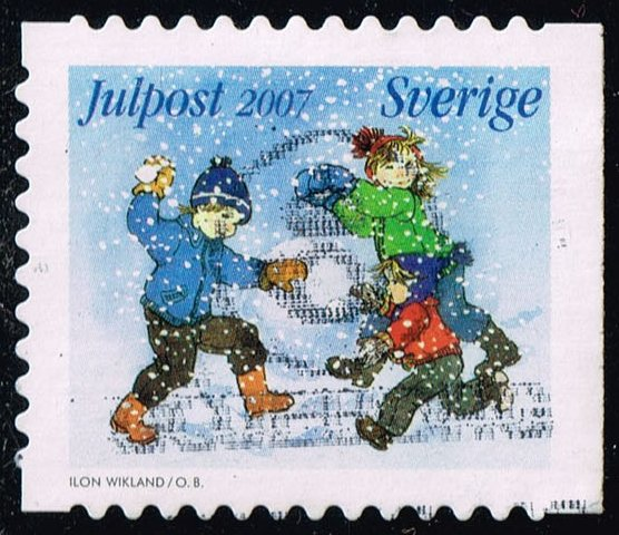 Sweden #2574b Christmas; Used (1.60)