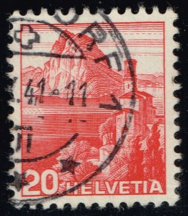 Switzerland #243 Lake Lugano; Used (0.25)