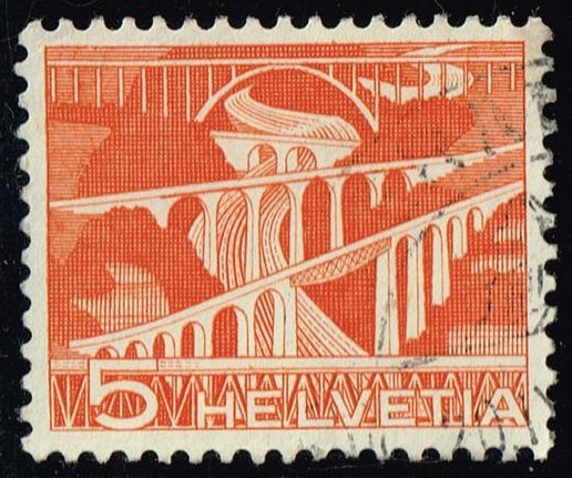 Switzerland #329 Viaducts; Used (0.25)