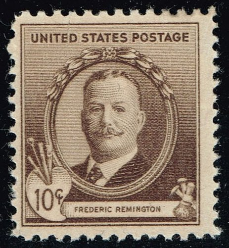 US #888 Frederic Remington; Unused (1.75)