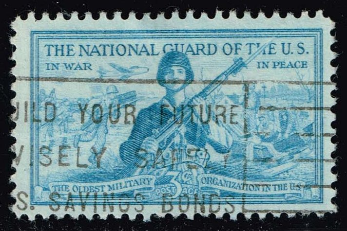 US #1017 National Guard; Used (0.25)