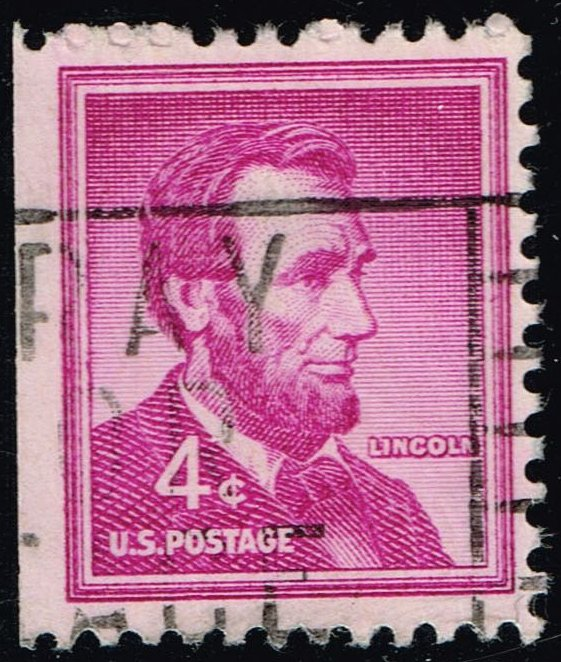 US #1036a Abraham Lincoln; Used (0.25)