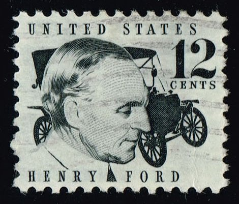 US #1286A Henry Ford & 1909 Model T; Used (0.25)