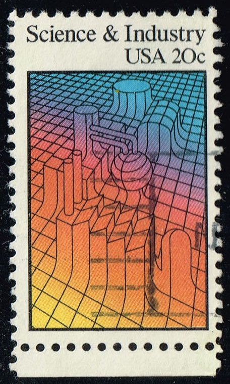 US #2031 Science & Industry; Used (0.25)