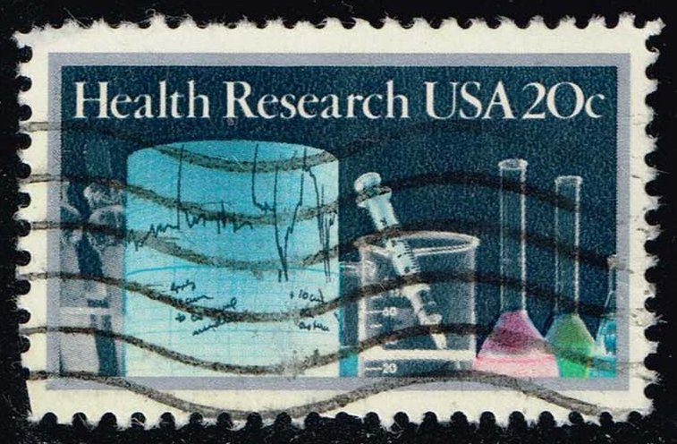 US #2087 Health Research; Used (0.25)
