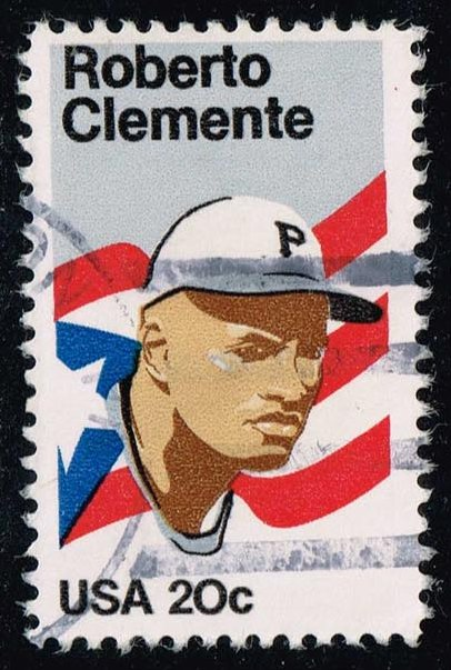 US #2097 Roberto Clemente; Used (0.25)