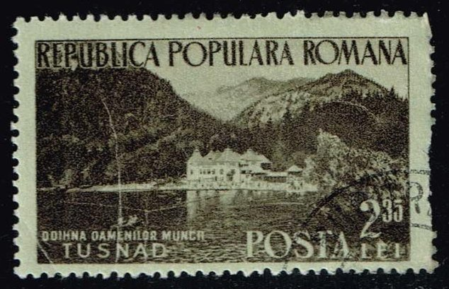 Romania **U-Pick** Stamp Stop Box #139 Item 12