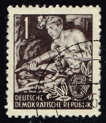 Germany DDR **U-Pick** Stamp Stop Box #139 Item 21