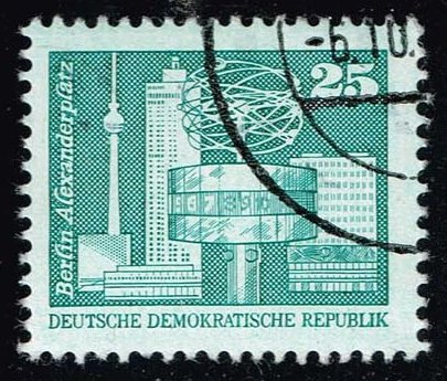 Germany DDR **U-Pick** Stamp Stop Box #139 Item 35