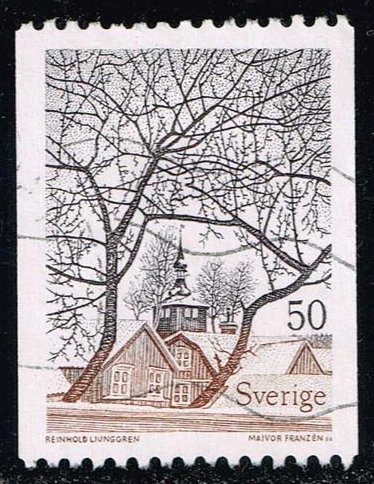 Sweden **U-Pick** Stamp Stop Box #140 Item 73
