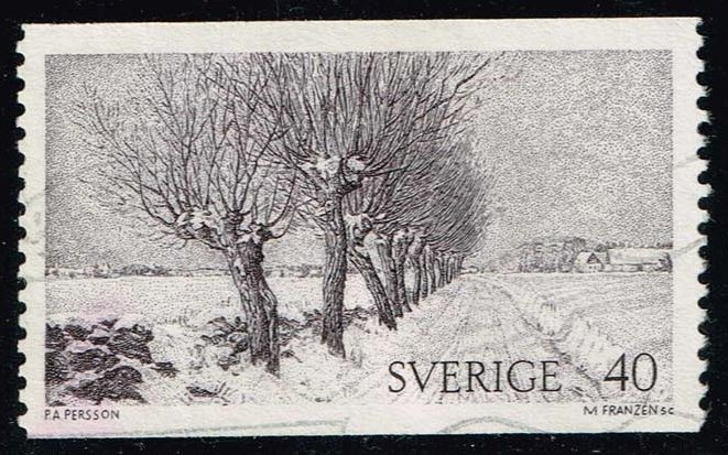 Sweden **U-Pick** Stamp Stop Box #140 Item 81
