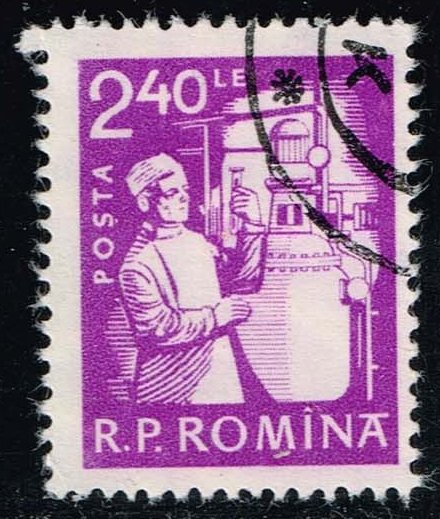 Romania **U-Pick** Stamp Stop Box #146 Item 00