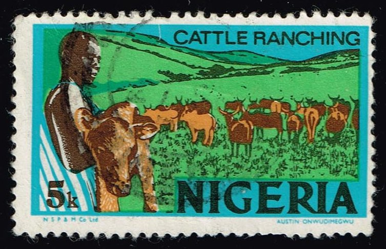 Nigeria **U-Pick** Stamp Stop Box #146 Item 30
