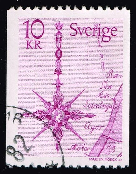 Sweden **U-Pick** Stamp Stop Box #146 Item 33