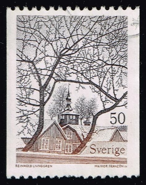 Sweden **U-Pick** Stamp Stop Box #146 Item 36