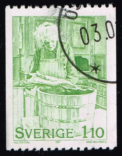 Sweden **U-Pick** Stamp Stop Box #146 Item 37