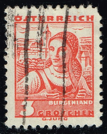 Austria #355 Costumes of Burgenland; Used (0.25)