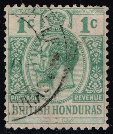 British Honduras #75 King George V; Used (1.75)