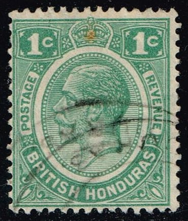 British Honduras #92 King George V; Used (6.50)