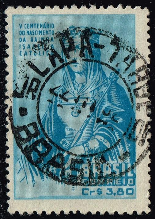 Brazil #717 Queen Isabella; Used (0.35)