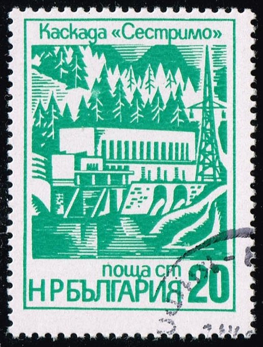 Bulgaria #2326 Hydroelectric Station; CTO (0.25)