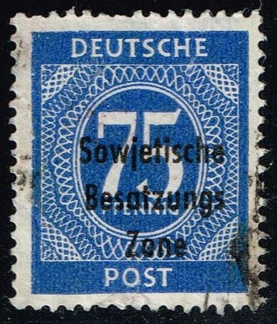 Germany #10N20 Numeral; Used (0.80)