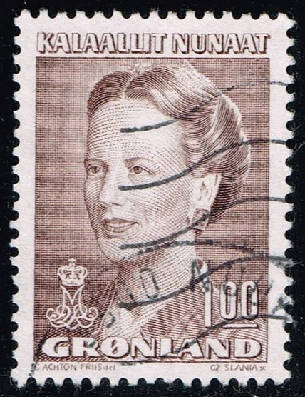 Greenland #217 Queen Margrethe; Used (0.45)