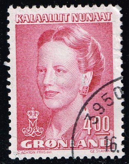 Greenland #224 Queen Margrethe; Used (1.75)