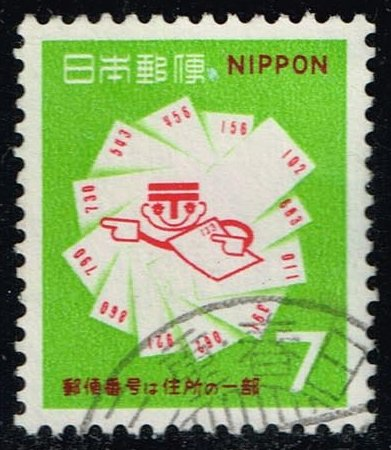 Japan #997 Postcards and Postal Code Symbols; Used (0.25)