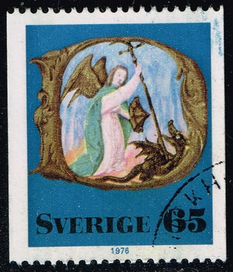 Sweden #1187 Archangel Michael; Used (0.25)