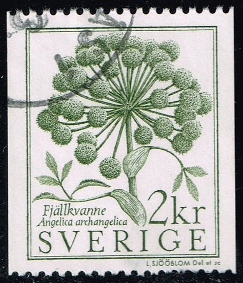 Sweden #1490 Angelica; Used (0.25)