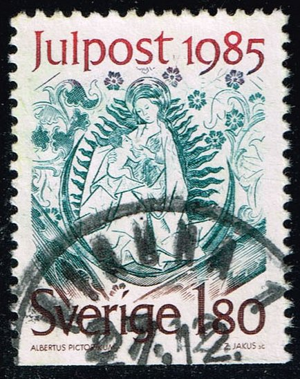 Sweden #1561 Mary as Apocalyptic Virgin; Used (0.50)