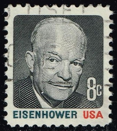 US #1394 Dwight D. Eisenhower; Used (0.25)