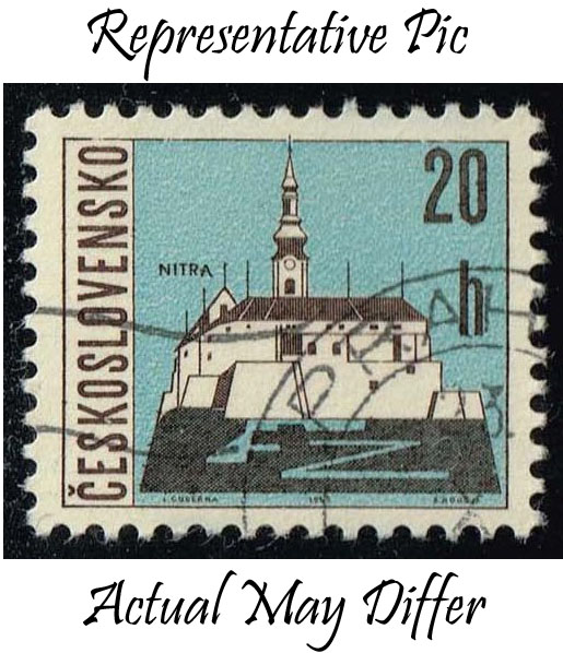 Czechoslovakia #1347 Nitra; CTO at Wholesale (0.25)