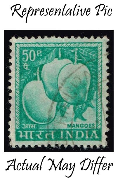 India #416 Mangos; Used at Wholesale (0.25)