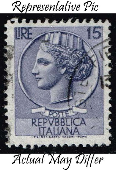 Italy #679 Italia from Syracusean Coin; Used at Wholesale