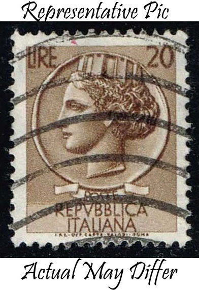 Italy #680 Italia from Syracusean Coin; Used at Wholesale