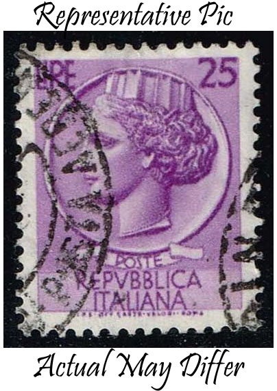 Italy #681 Italia from Syracusean Coin; Used at Wholesale