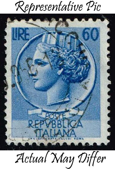 Italy #685 Italia from Syracusean Coin; Used at Wholesale