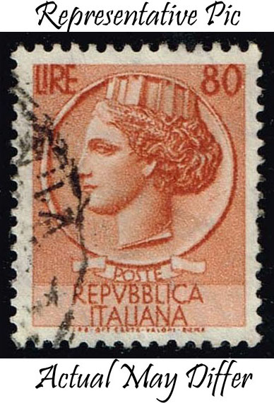 Italy #686 Italia from Syracusean Coin; Used at Wholesale