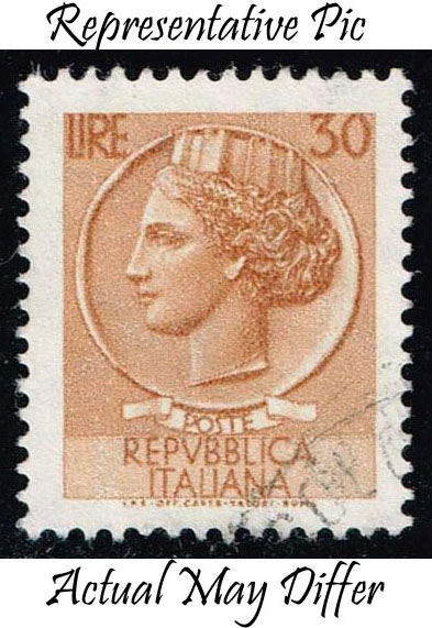 Italy #998H Italia from Syracusean Coin; Used at Wholesale