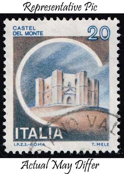 Italy #1410 Del Monte Castle; Used at Wholesale (0.25)