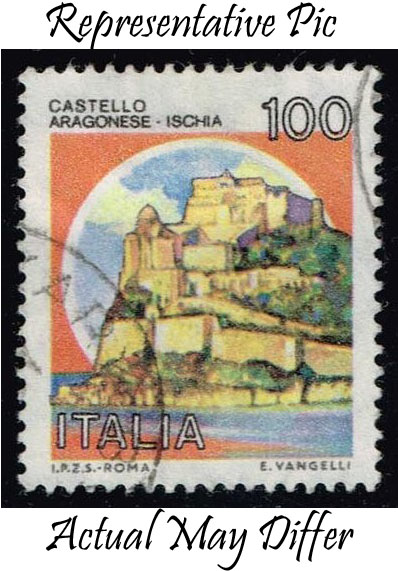Italy #1415 Aragonese Castle; Used at Wholesale (0.25)